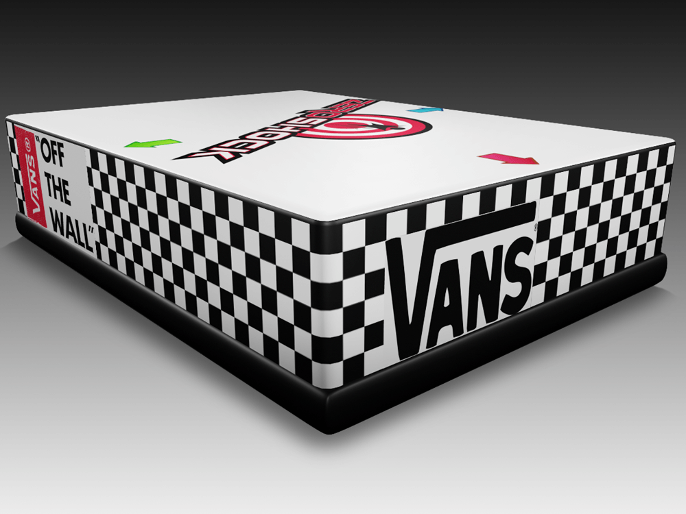 VANS Checker Inflatable Stunt Bag