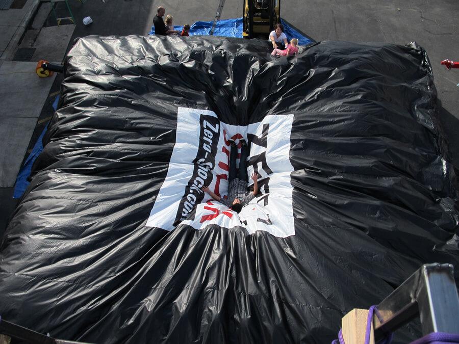 inflatable air cushion