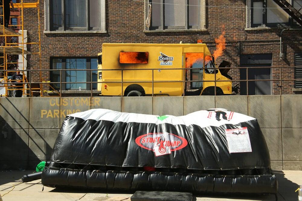 Doritos Jacked Knievel stunt bag