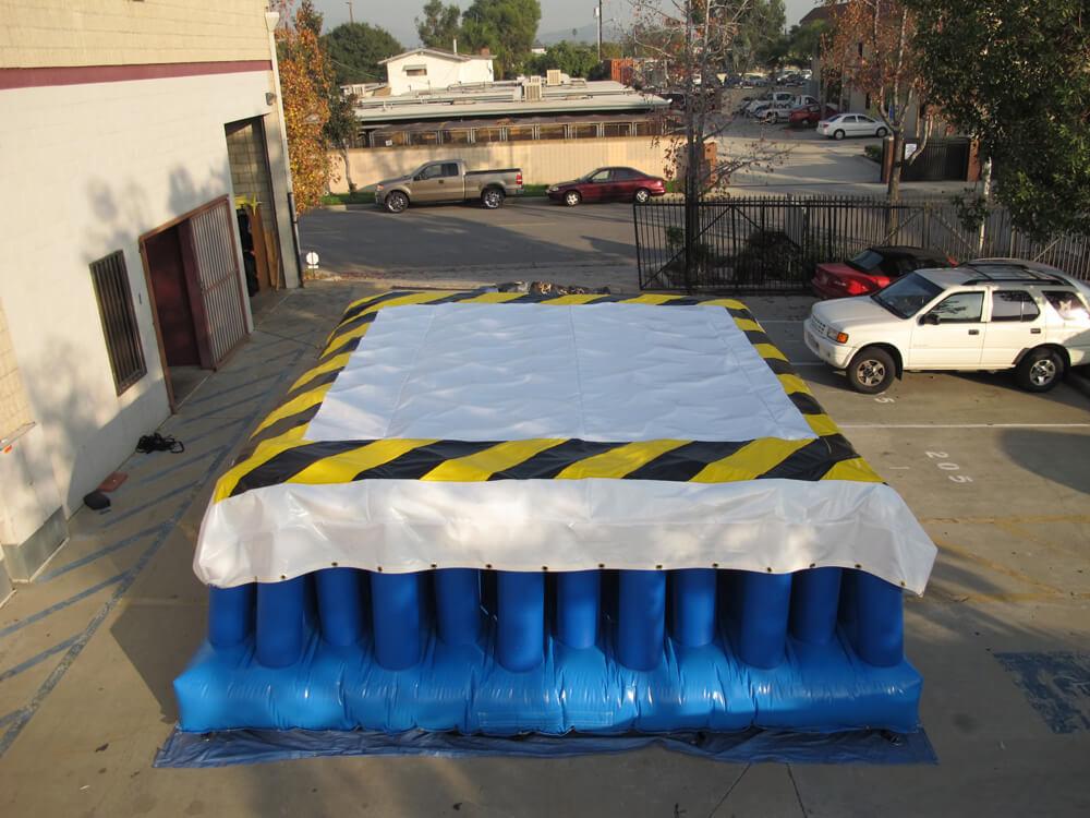 Zero Shock inflatable stunt bag